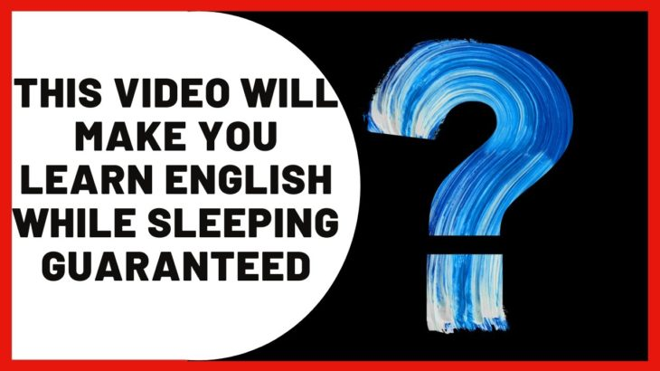 The Truth Behind Learning English While Sleeping