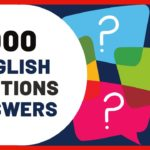 1000 Common English Questions And Answers Daily English Conversation