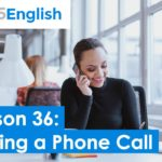 Business English – Ending a Telephone Call in English   925 English Lesson 36