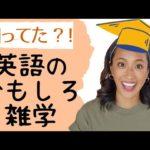 思わず「へぇ〜」ってなる英語のおもしろ雑学トップ10!
