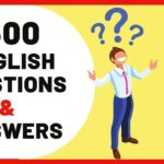1500 English Questions and Answers