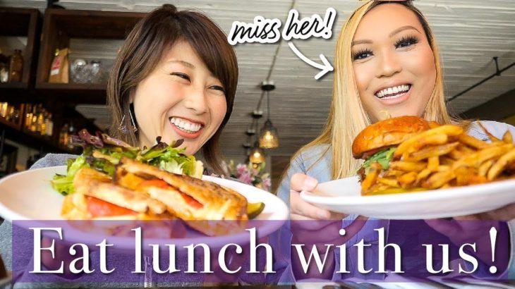 アメリカンなランチ🍔🇺🇸 妄想旅行!Eat lunch with us!〔#903〕