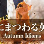 「秋にまつわる日常表現  Part 2」Autumn Idioms